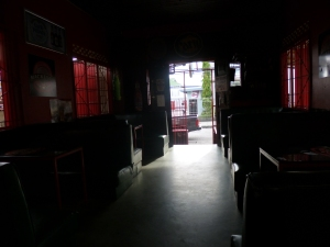 Hereford's Social Club. I was being anti-social at the time, just having a beer in a dark bar on a sunny day.